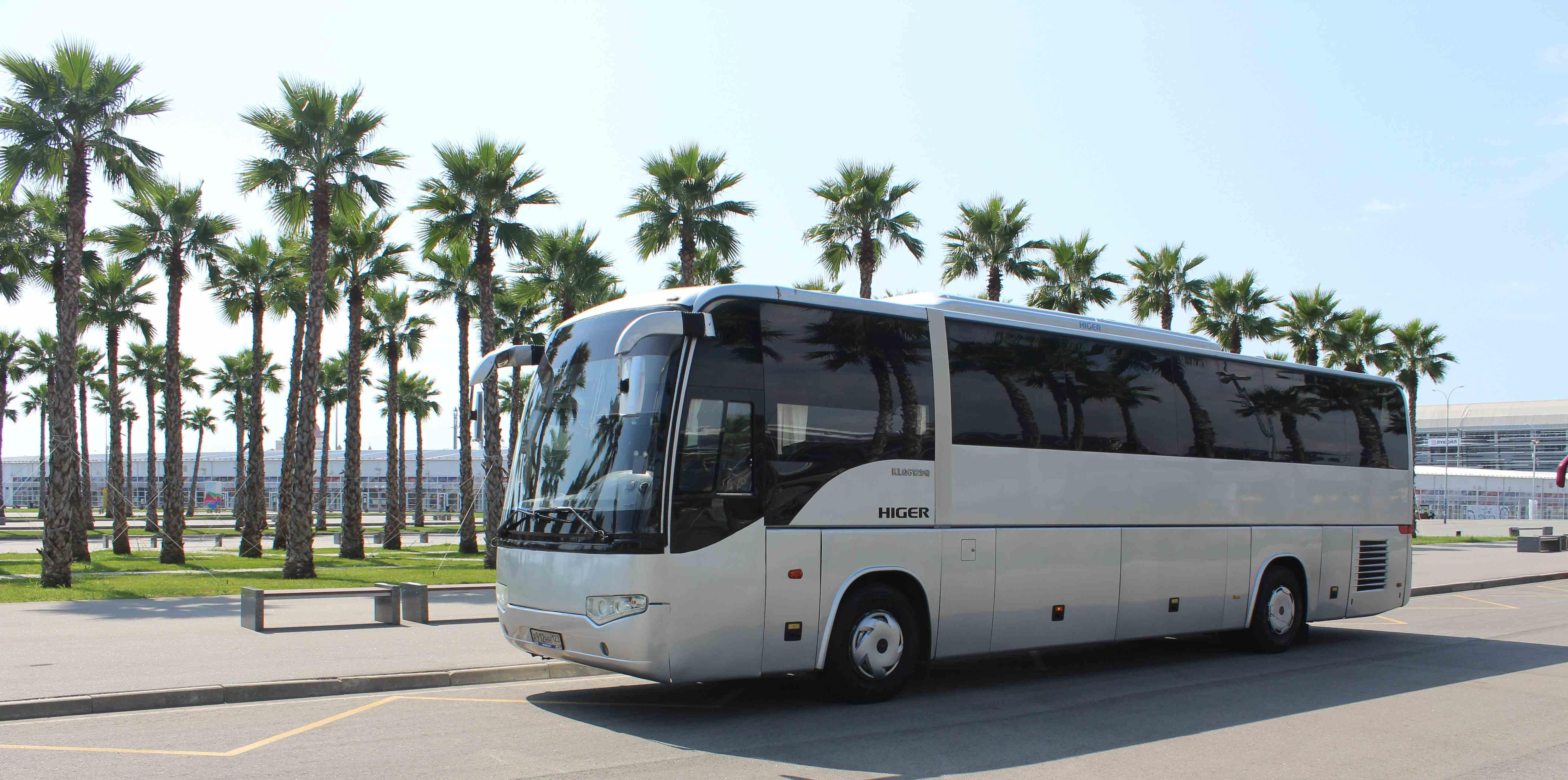 парк автобусов Эврика
